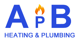apb plumbing heating logo light